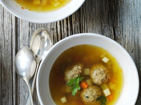 Slovenian Liver and Saffron Dumplings