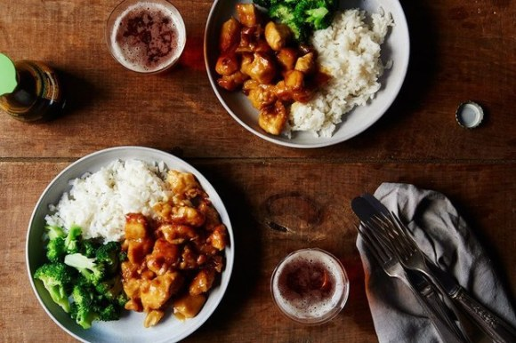Panda Express-Style Orange Chicken