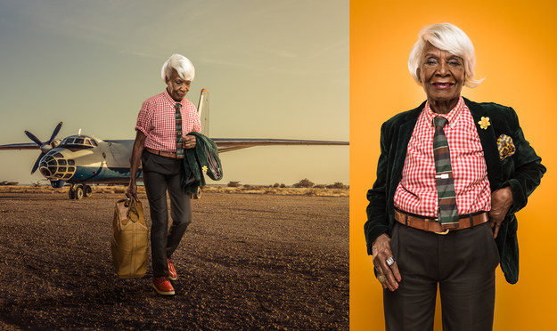 Kenyan photographer Osborne Macharia put together a photo series documenting the country's generation of retired businesswomen.