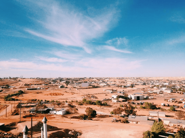 From the surface, Coober Pedy looks like any other outback Australian town.