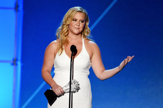 Amy Schumer. Actor. Comedian. Everyone's best friend.