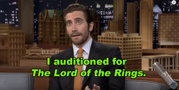 And surprisingly, one role he failed to land was in Peter Jackson's epic The Lord of the Rings trilogy.