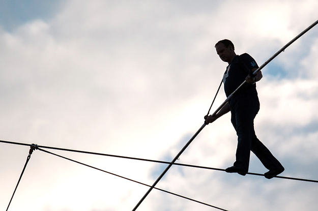 The World S Most Controversial High Wire Walker Has A Plan