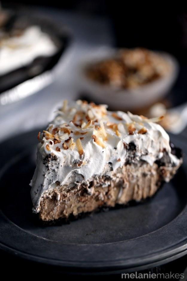 Mocha Coconut Frappuccino Pie