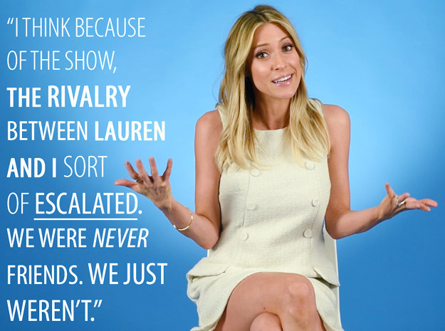 The show escalated the rivalry between Kristin and Lauren.