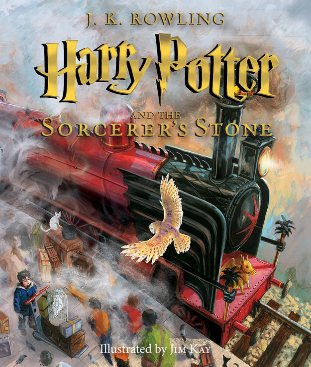 Last October, the world was gifted with this beautifully illustrated version of Harry Potter and the Sorcerer's Stone.