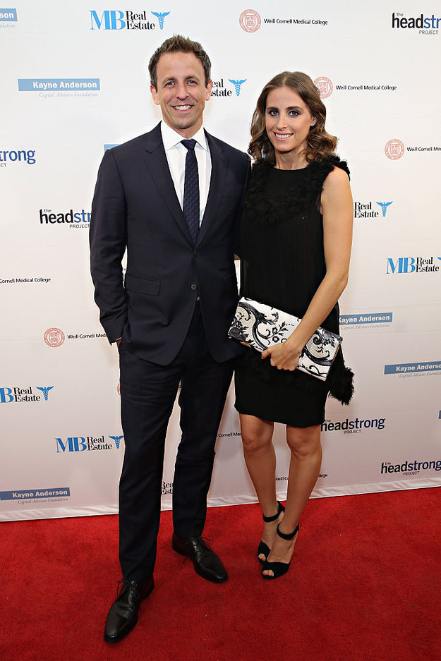 On Sunday, Seth Meyers' wife, Alexi, gave birth to their first child, a baby boy named Ashe Olsen.