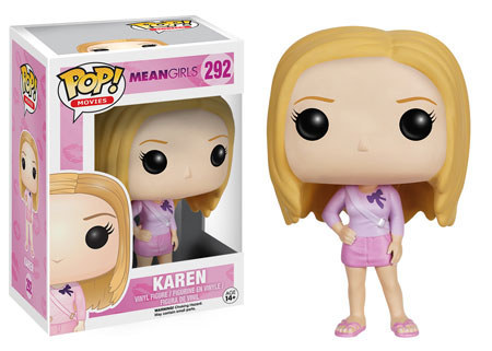 Karen who of course is wearing pink.