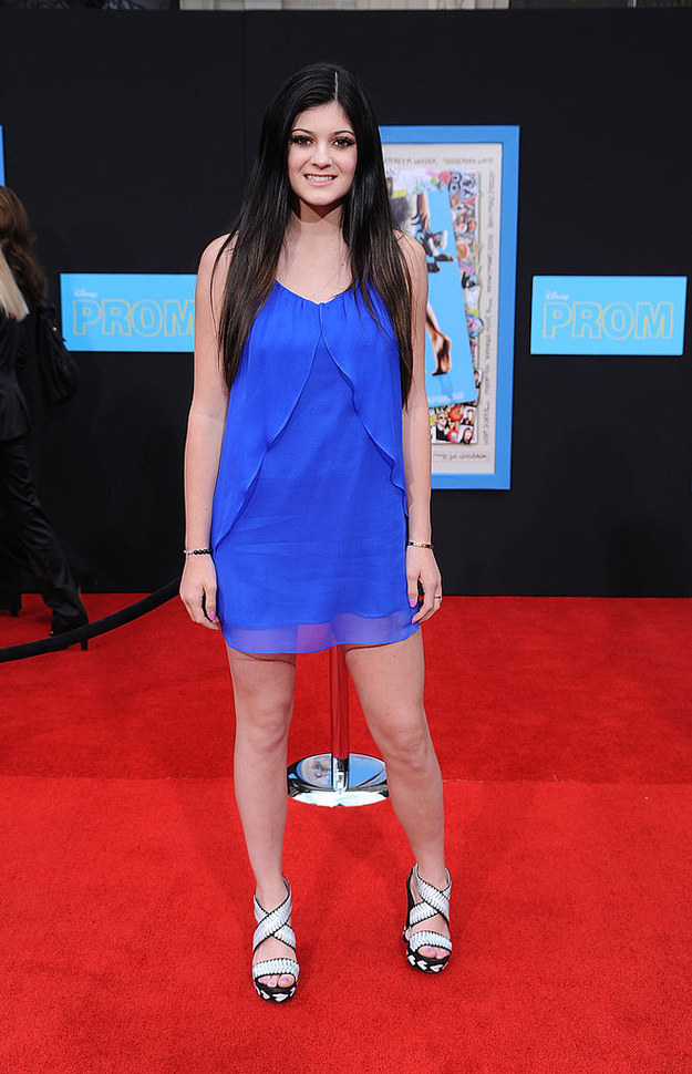 ...this was Kylie Jenner's ~look~...