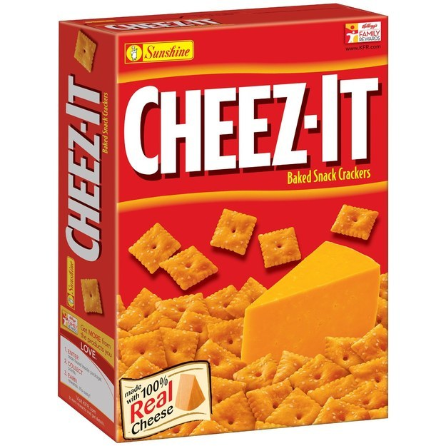 This singular box of Cheez-Its ($2.82).