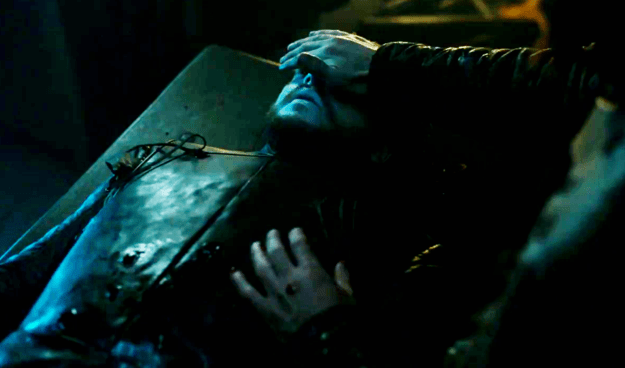 LOOK AT HOW DEAD JON SNOW IS. HE IS SO DEAD.