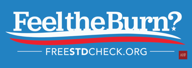 The slogan, of course, is a riff on the phrase that has become synonymous with Democratic presidential candidate Bernie Sanders' campaign.
