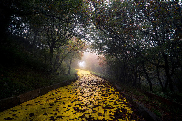 Johnny Joo, a photographer based in Ohio, visited the ruins of the Land of Oz in 2015 and captured these eerie photos.