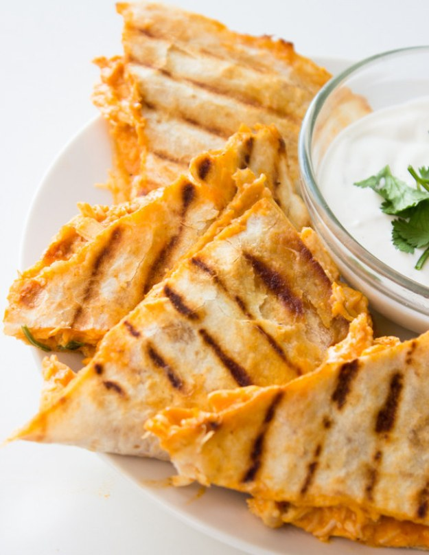 Buffalo Chicken Quesadilla
