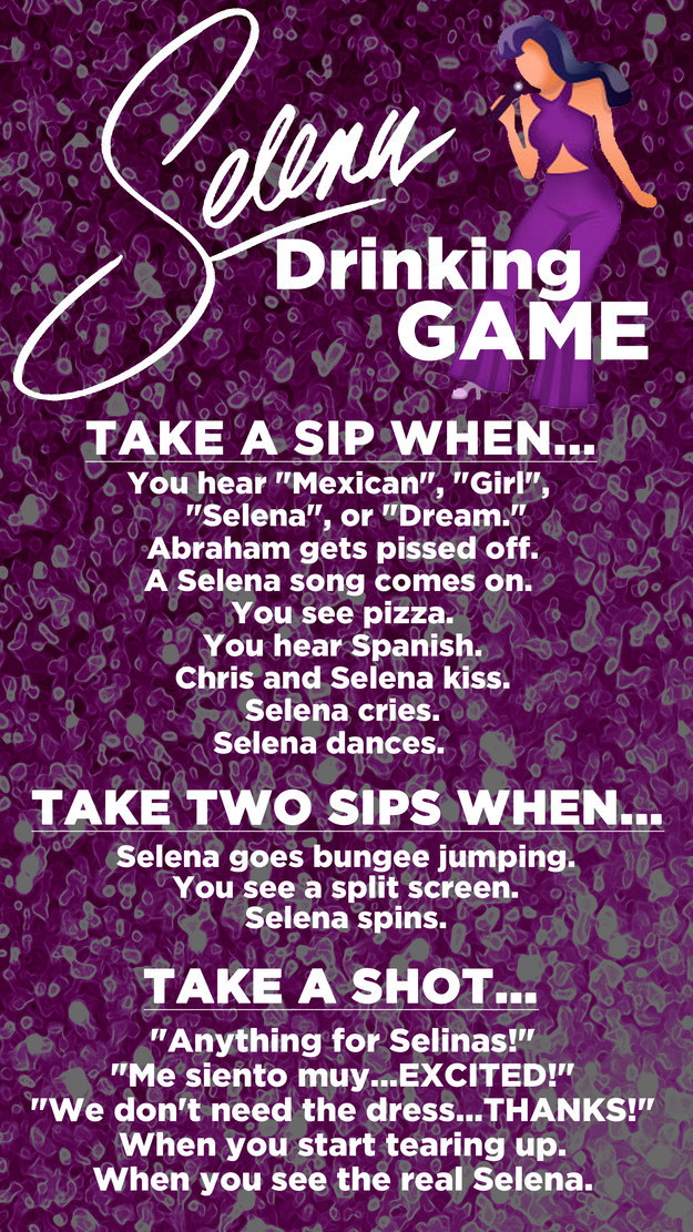 Thinking about watching Selena to commemorate the Tejano icon's birthday? Of course you are! Here's a simple guide for those who need a little more ~pop~ in their washing machine: