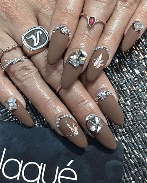 After years of attending, Vanessa decided to step up her already otherworldly Coachella game and sprung for THIS manicure, worth an astounding $190: