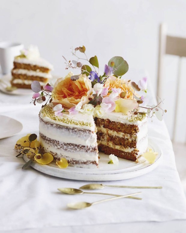 Layered Carrot Cake