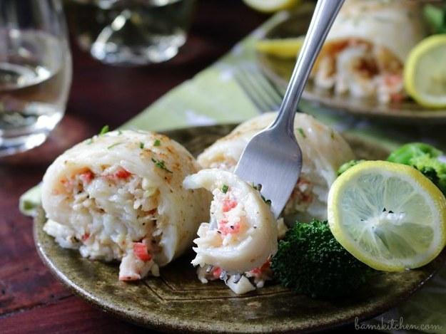 Crab Stuffed Whitefish