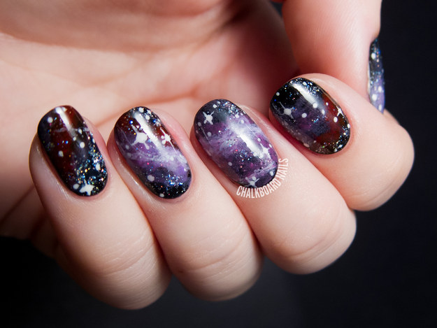 This ~out there~ galaxy pattern.