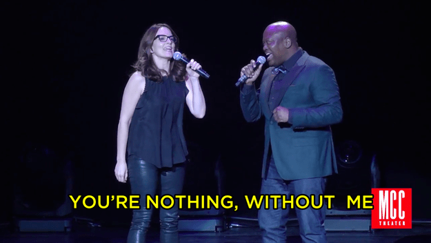 """On Monday night, the superstar singer behind """"Peeno Noir,"""" aka Tituss Burgess, performed a duet with the one and only Tina Fey at MCC Theater's annual Miscast Gala and it was pretty much the best."""
