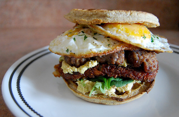 The Ultimate Breakfast Sandwich