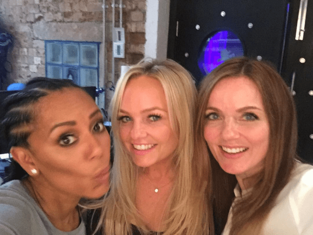 Look at them! Scary Spice, Baby Spice and Ginger Spice still got it!