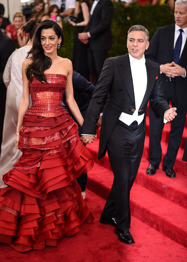Amal Clooney is no stranger to destroying red carpets with her perfectly curated sartorial choices.