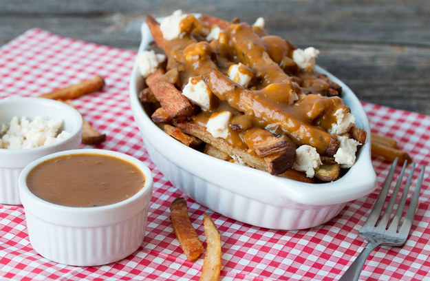 Vegan Poutine with Baked Fries