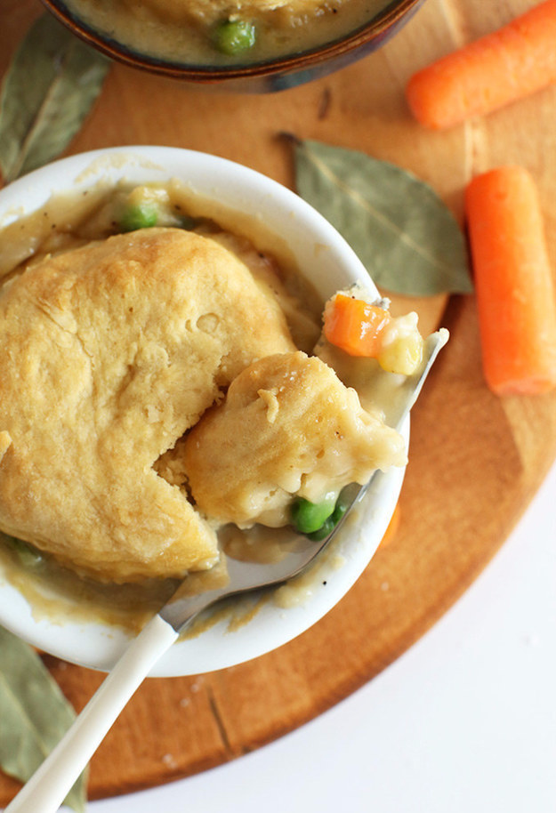 One Hour Classic Pot Pies