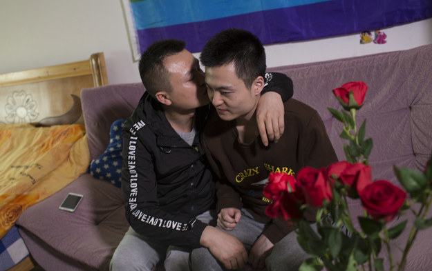Same-sex marriage has yet to be legalized in China. But if we put aside the sheet of government-issued paper, a handful of Chinese same-sex couples have tied the knot, exchanged kisses, and got blessing from families — and they've just been joined by this handsome set.