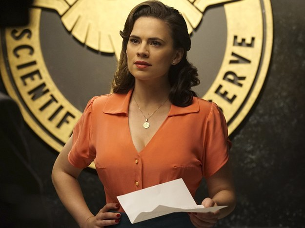 Hayley Atwell won millions of hearts as pioneer boss-lady Agent Peggy Carter in the Marvel Universe – but for Atwell, that chapter is closing for now.