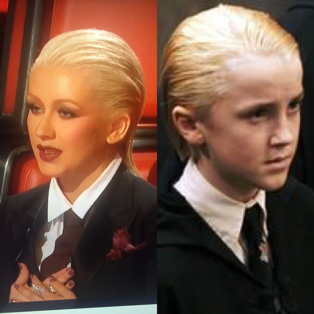 And, everyone, this is undoubtedly Christina Malfoy.