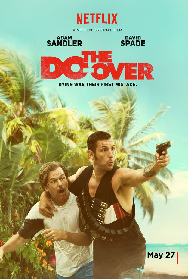 He's been a lifelong fan of the actor. So it was no surprise that a friend shared the movie trailer for Sandler's upcoming Netflix movie, The Do-Over, on Kessler's Facebook page.