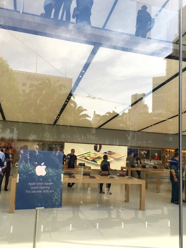 On May 21, Apple is opening a really fancy new retail store right by Union Square in San Francisco.