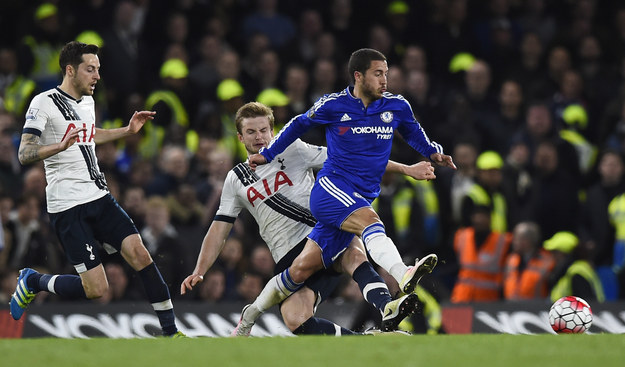 The club claimed the title after Chelsea and Tottenham had a 2-2 draw at London's Stamford Bridge stadium. Tottenham had needed a victory in order to stop Leicester City claiming the championship title.
