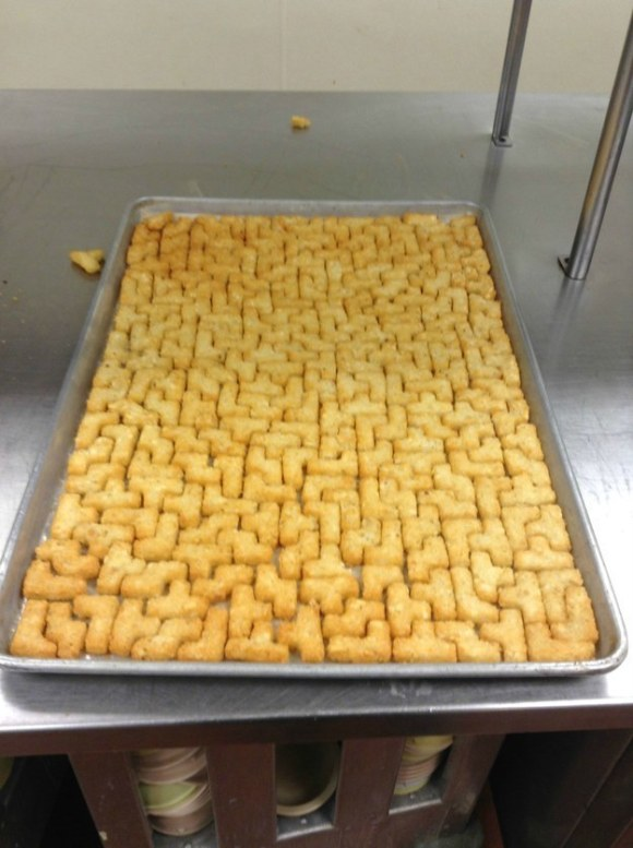 And of course, the Tetris tots.