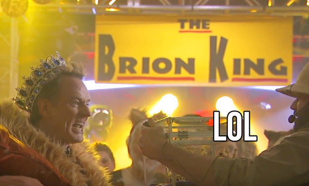 """And he comes up with the perfect party theme: """"The Brion King."""""""