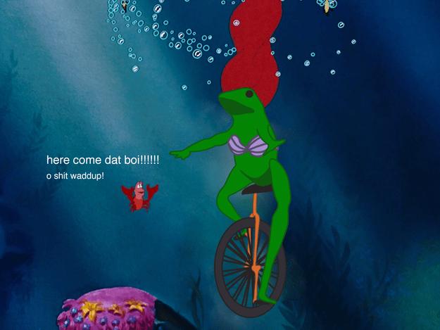 As Ariel: