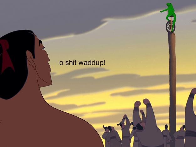 As Mulan: