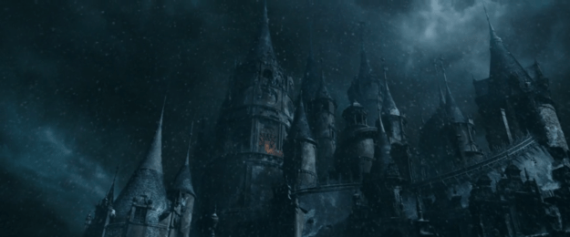 (Seriously, we can't help but notice that this castle is a little Hogwarts-esque.)