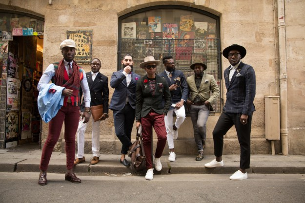 Say hello to The Gentlemen — seven of the best-dressed guys in Paris, and your new style goals.
