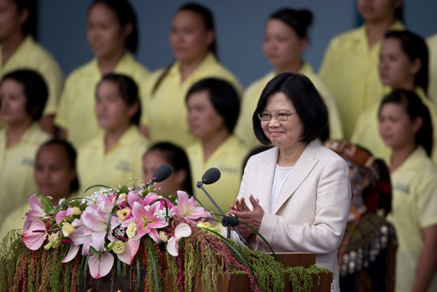 """Chinese state news agency Xinhua on Tuesday went after Tsai Ing-wen, Taiwan's new president, blaming her """"having an extreme political style"""" on the fact that she's a single woman."""