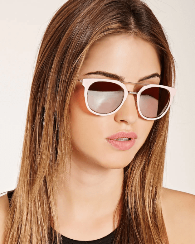 Get these mirrored aviator sunnies for $9.90 from Forever 21.