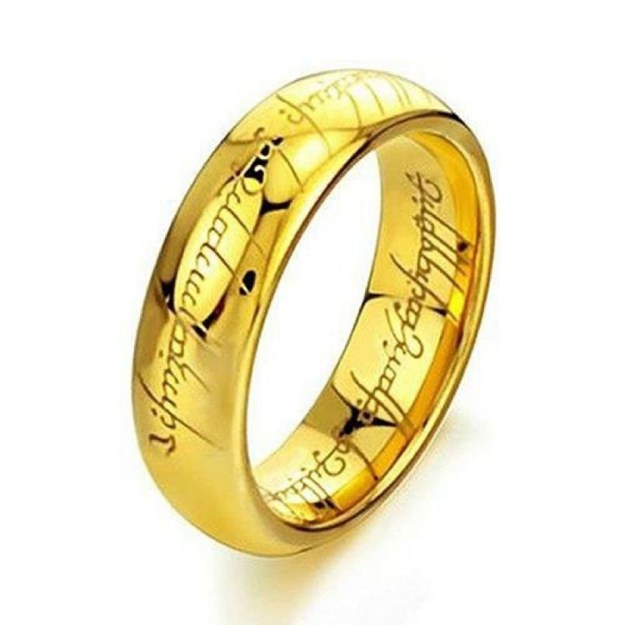 A tungsten ring to Rule Them All.