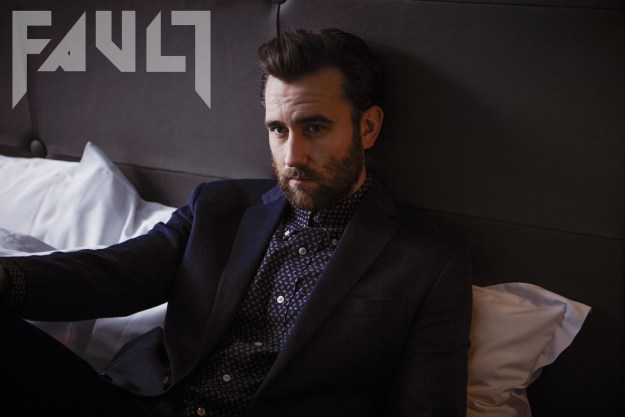 Matt Lewis appears in the latest issue of FAULT magazine.