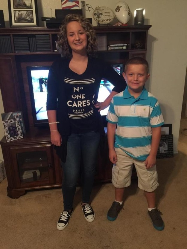 Ali Chaney, a 13-year-old junior high school student in Copperas Cove, Texas, bought a simple T-shirt with the $10 she earned last weekend for babysitting, she told BuzzFeed News.