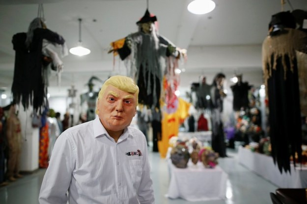 """""""The Chinese Factory Mass Producing Donald Trump Masks"""" — The Guardian"""
