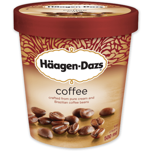 Hello friends. I've gathered you here today to talk about something special: Haagen Dazs Coffee Ice cream. The most pure, beautiful thing on this planet. I love it. I'm kinda obsessed with it. And idk, I'm assuming maybe you are too.