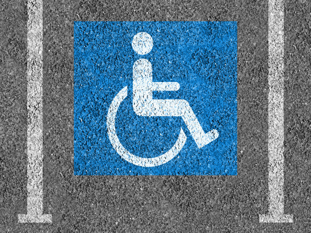 Some states will issue you a temporary disabled parking placard.