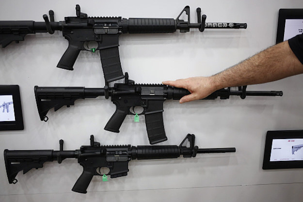 "As the U.S. recovers from its most deadly mass shooting, a Tennessee lawmaker says he is ""doubling down"" on his decision to give away a door prize at an upcoming campaign fundraiser — two AR-15 assault rifles."